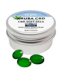 Aruba CBD Softgel capsules 300mg (3%)